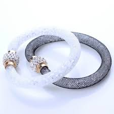 crystal mesh bracelet images Cheap 20mm mesh bracelet find 20mm mesh bracelet deals on line at jpg