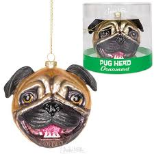 pug ornament archie mcphee