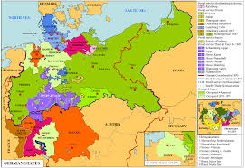 Bavaria Germany Map by German States Map Stampworldhistory