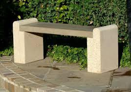 Cream Garden Bench Small Garden Bench Treenovation