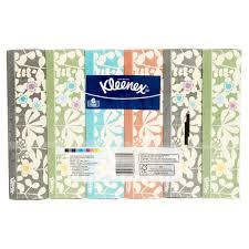 kleenex everyday tissues 85 tissues per flat box pack of