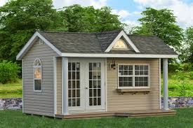 Exterior Shed Doors Garden Decor Fascinating Image Of Home Exterior Decoration Using