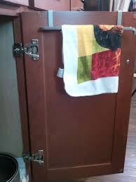 Kitchen Cabinet Towel Bar Kitchen Towel Bar Under Sink Victoriaentrelassombras Com