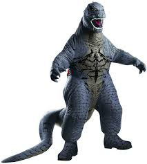 cathedral city halloween store scary deluxe inflatable godzilla costume costume craze