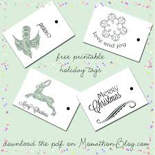 momathon blog two christmas gift box printables santa and reindeer