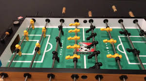 electronic tornado foosball table youtube