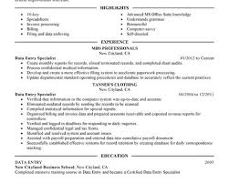 ideas collection resume sample for data entry operator and clerk