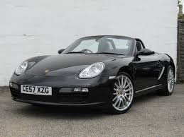 Porsche Boxster Black - used 2007 porsche boxster 987 05 12 24v for sale in suffolk