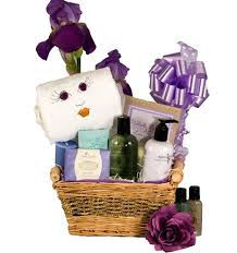 bathroom gift basket ideas relaxing bath gift basket for a lavender bath basket