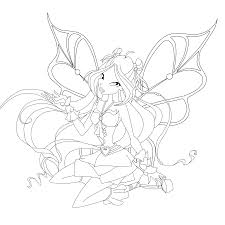 flora coloring pages flora sophix coloring page by mskittencreations on deviantart