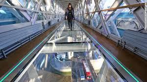 london glass building glass walkway shatters at london s tower bridge cnn com