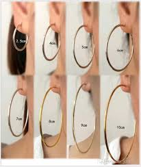 circle earrings 2017 large circle ear clip fashion trends dj club