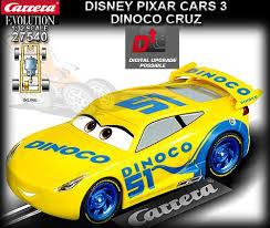 Disney Cars Armchair Carrera 27540 Disney Pixar Cars 3 Dinoco Cruz 51 27540
