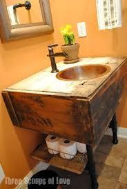 diy bathroom vanity ideas wooden box turned bathroom vanity diy fantastic bathroom
