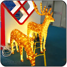 Outdoor Christmas Decorations Giraffe by Christmas Decoration Led Light Reindeer Christmas Decoration Led