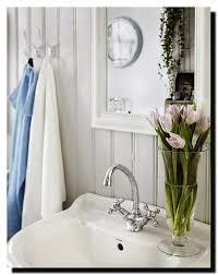 Shabby Chic Bathroom Decor by Shabby Chic Ceramic White Bathroom Accessories Bath Storage Set