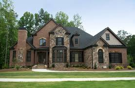 good brick home house plans beauteous new brick home designs