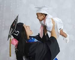 college cap and gown infant graduation cap and gown paying for college with the gerber