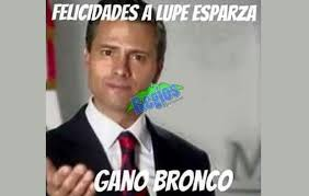 Bronco Memes - memes sobre el triunfo de el bronco y la derrota de ivonne inundan