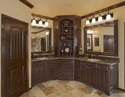 dallas corner bathroom cabinet mediterranean with cabinets