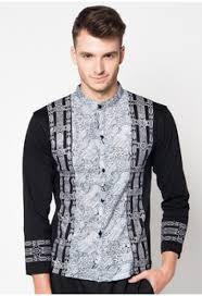 baju koko model baju koko dewasa lengan panjang edisi lebaran model baju