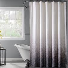 Grey And White Striped Shower Curtain Bathroom White And Grey Shower Curtain Plus Towel Holder And