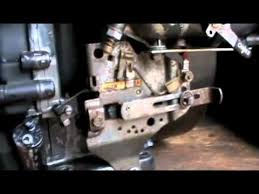 briggs and stratton 8hp throttle and governor setup youtube