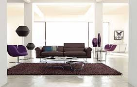 living room casual living room design ideas with cozy purple sofa
