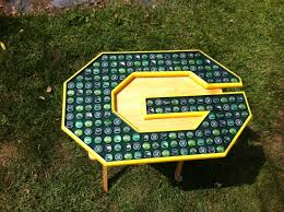 Green Bay Packer Flag Beer Bottle Cap Art Green Bay Packers G Logo