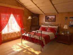 Red Bed Cushions Bedroom Bedroom Fascinating Red And Blue Bedroom Using Red Wood