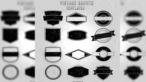 vintage badges template free download by bluegfx youtube