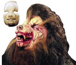 Werewolf Mask Prosthetic Werewolf Mask Accessories U0026 Makeup