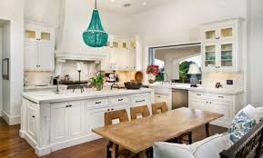 kitchen island white chandelier over kitchen island white kitchen with turquoise