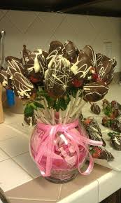 chocolate covered strawberry bouquet chocolate dipped pretzel rods great gift ideaschocolate covered