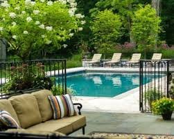 Backyard Pool Fence Ideas 30 Stylish And Practical Pool Fence Designs Digsdigs
