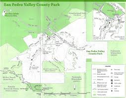 Ca State Parks Map by San Pedro Valley County Park Map 600 Oddstad Blvd Pacifica Ca
