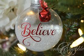 diy glitter ornaments create and babble