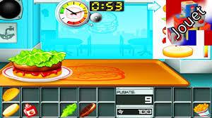 jeux cuisine android jeu burger pour enfants faire des hamburgers soi même android