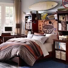 wood bed frame teen boy bedroom ideas have book racks bookshelves