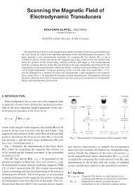 aes e library scanning the magnetic field of electrodynamic