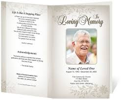 funeral program maker memorial cards for funeral template free business template