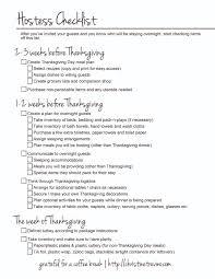 hostess checklist prep worksheets thanksgiving and holidays