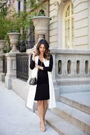 maternity style flats talbots black dress hm white vest