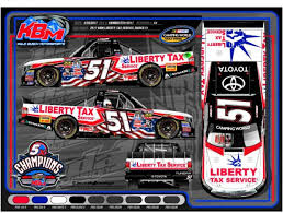 liberty tax service to sponsor myatt snider u0027s no 51 tundra for