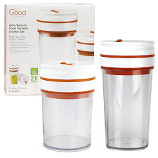 amazon com food storage container set of 2 0 8l and 1l