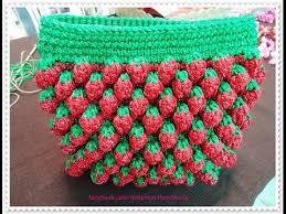 youtube cara membuat tas rajut dari tali kur crochet stitches free crochet patterns for bags 357 youtube