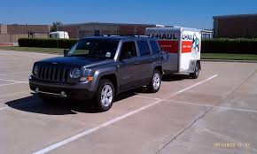 2013 jeep patriot towing capacity anyone tow a 5x8 enclosed trailer jeep patriot forums
