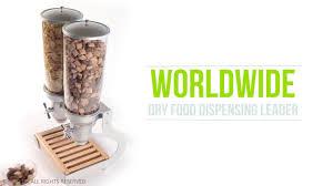 wall mounted dry food dispenser pro serv idm dry food dispenser youtube