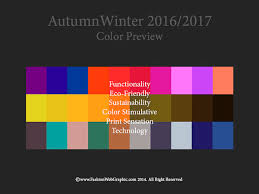 color trends 2016 2017 fall winter autumnwinter 2016 2017 trend