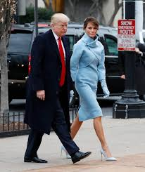 melania trump channels jackie kennedy at inauguration daily mail